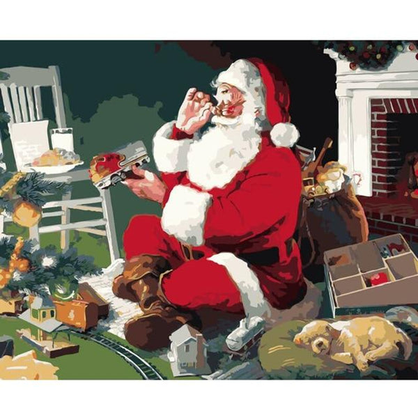 Christmas Diy Paint By Numbers Kits PBN94663