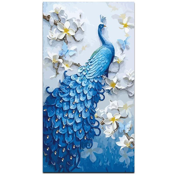 Peacock Diy Paint By Numbers Kits VM94550