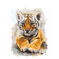 Tiger Diy Paint By Numbers Kits VM97998