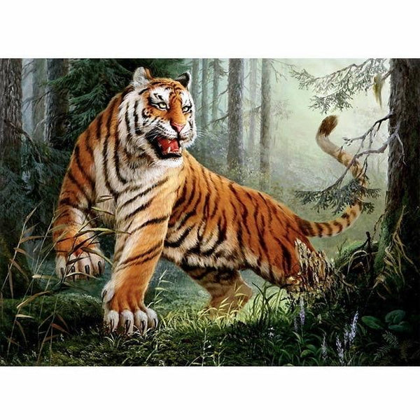 Animal Tiger Paint By Numbers Kits PBN90981