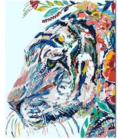 Gipsy Hipster Tiger Diy Paint By Numbers Kits PBN92489