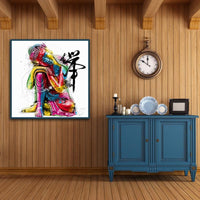 Colorful Buddha Statues Diy Paint By Numbers Kits VM54617