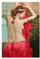 Sexy Lady Diy Paint By Numbers Kits PBN95567