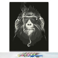 Monkey Diy Paint By Numbers Kits VM94025
