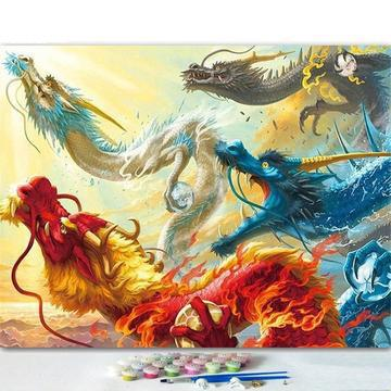 Dragon Diy Paint By Numbers Kits VM94390