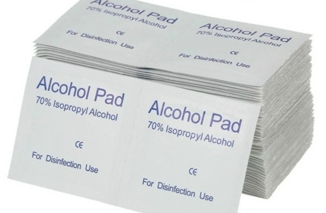 Alcohol Prep Pads 100ct