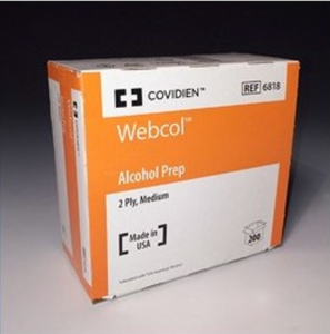 Alcohol Prep Pads 200ct