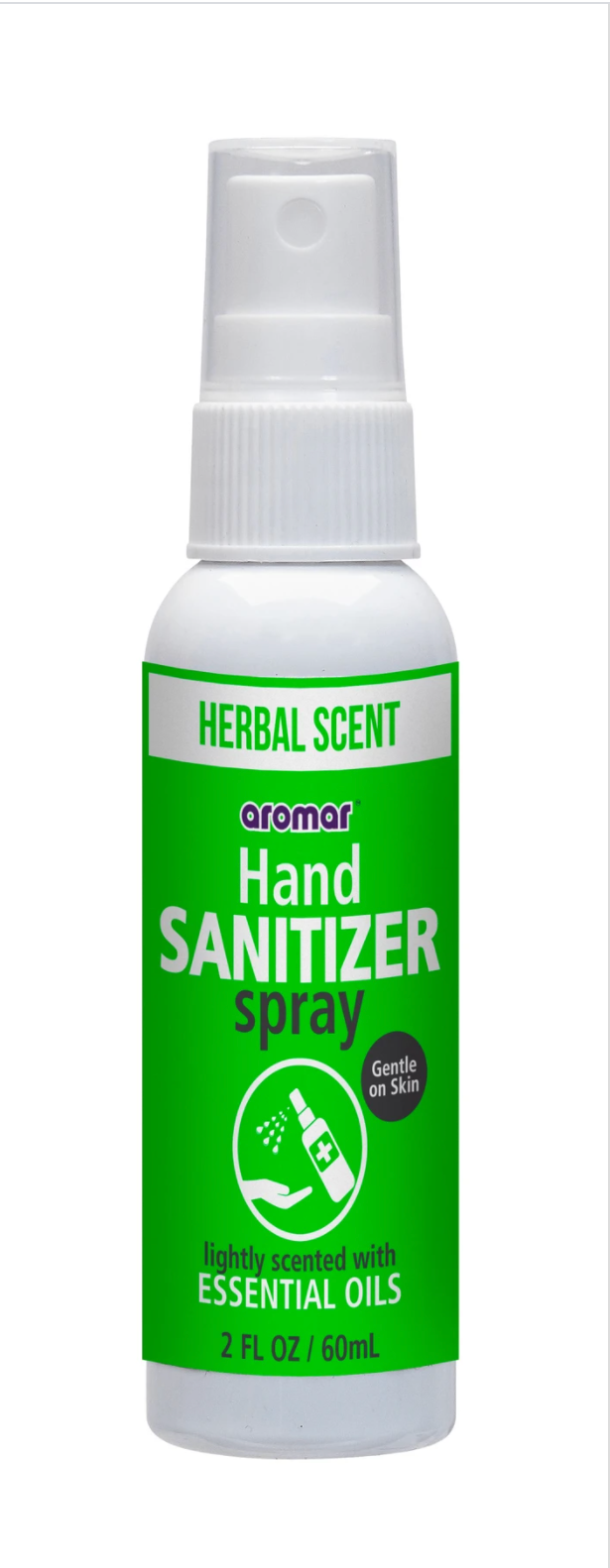 Aromar Spray Hand Sanitizer 2oz.