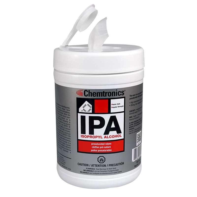 Chemtronics IPA Wipes