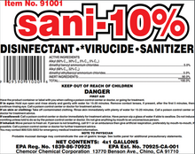 Load image into Gallery viewer, Sani-10 Hospital grade cleaner