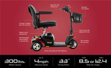Load image into Gallery viewer, Go-Go Elite Traveler 3-Wheel Scooter