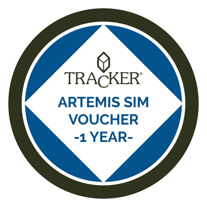 TRACKER ARTEMIS SIM CARD- ONE YEAR EXTENSION VOUCHER