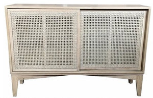 Rattan Wide Cabinet