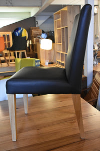 Full Grain Leather Dining Chairs