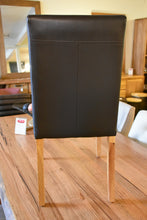 Load image into Gallery viewer, Full Grain Leather Dining Chairs