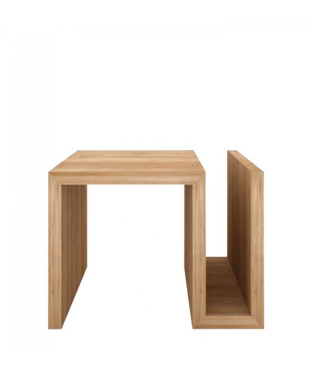 Naomi Oak Side Table