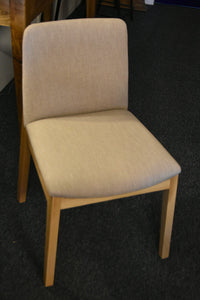 Dining Chair-Upholstered with Timber legs