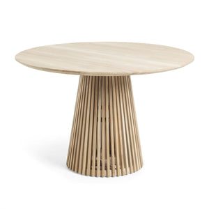 Solid Mindi Wood Dining Table