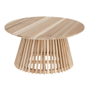 Solid Mindi Wood Coffee Table