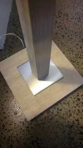 Oak Floor Lamp