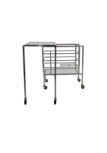 Transitivo Steel Drinks Cart