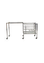 Load image into Gallery viewer, Transitivo Steel Drinks Cart