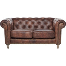 Load image into Gallery viewer, Chesterfield 2 Seater Sofa