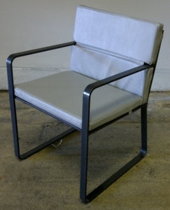Marine Leather Outdoor Chair