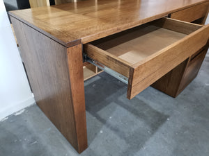 Recycled Timber 2 Drawer Desk