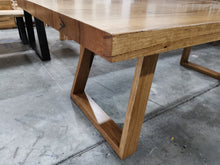 Load image into Gallery viewer, Angled 'U' Base Dining Table