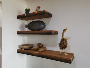 Mango Wood Floating Shelf