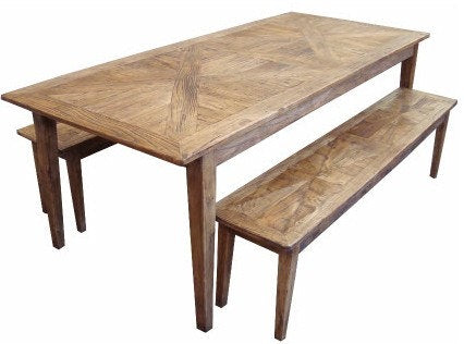 Parquetry Dining Table