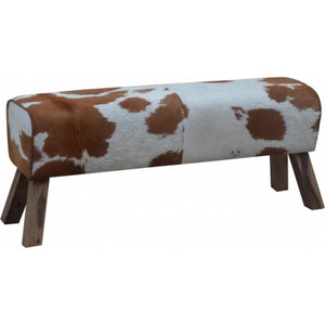 AFT Cowhide Long Bench