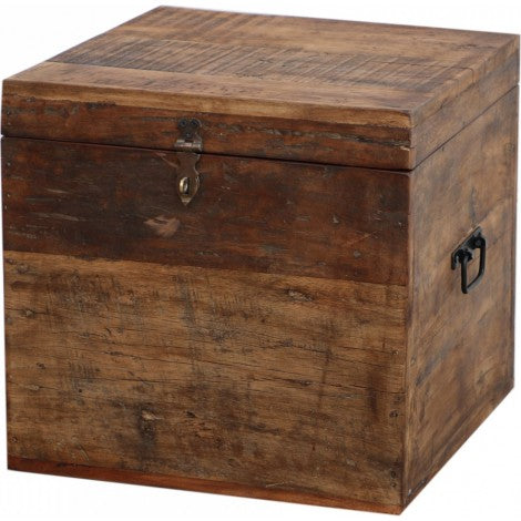AFT Wooden Storage Trunk with Lid