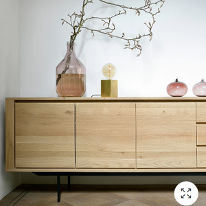 Ethnicraft Oak Shadow Sideboard II