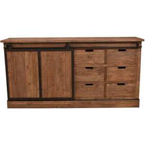 Track Sliding Door Sideboard