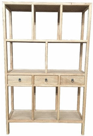 Chinese Antique Reproduction Shelving Unit
