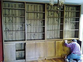 Recycled Timber Wall Unit