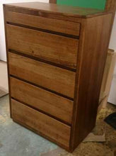 Load image into Gallery viewer, Recycled Australian Hardwood Chest of Drawers.
