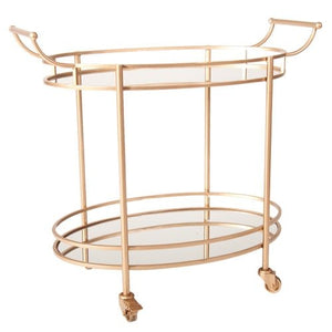 Oval Bar Cart