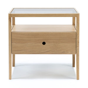 Oak Spindle Bedside