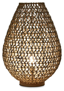 Natural Woven Table Lamp