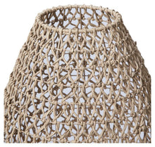 Load image into Gallery viewer, Natural Woven Table Lamp