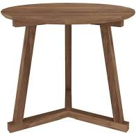 Load image into Gallery viewer, Ethnicraft Teak Tripod Side Table