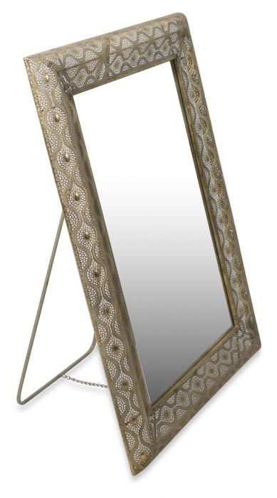 Filagree Freestanding Mirror