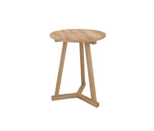 Ethnicraft Oak Tripod Side Table
