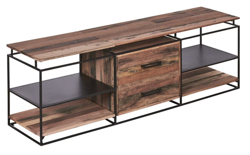 SLH Reclaimed Boatwood Media Unit