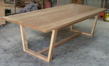 Load image into Gallery viewer, Recycled Australian Hardwood Dining Table