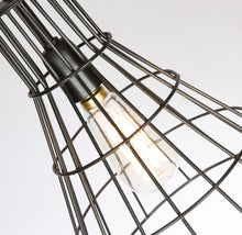 Load image into Gallery viewer, Flared Cage Hanging Pendant