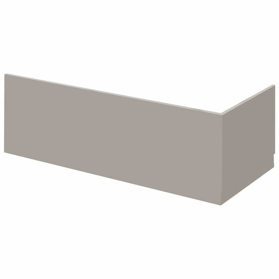1800mm Bath Front Panel - Stone Grey - welovecouk